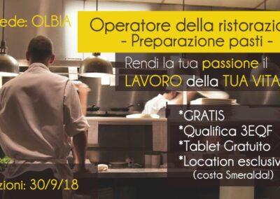 Operatore della ristorazione – Preparatore pasti